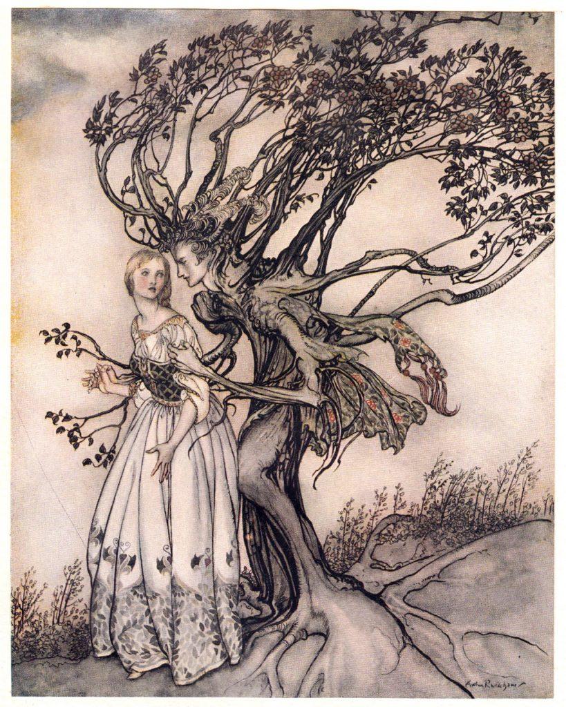Ilustracija Arthura Rackhama