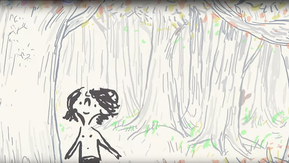 Tajni jezik drveća – u animiranom filmu